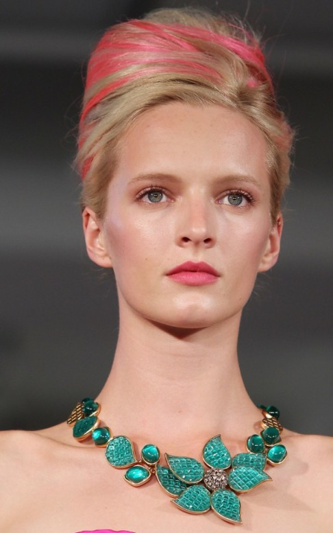 REVLON sponsors the Oscar de la Renta Fashion Show during Mercedes-Benz NY Fashion Week Spring/Summer 2013